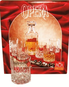 Opera Square Whisky 7 Piece Set