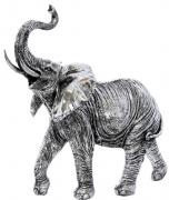 Silver Elephant  -  28 x 26 cm (TNAC 58)