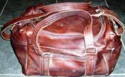 Brown Leather Travel Bag (ERTRABRL)