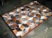 Mixed Hides  -  Diamond Pattern.  (Per Square Metre) ()