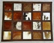 Tri-Colour Nguni Hide Placemats (ERNPLCTR)