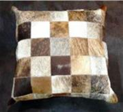 Nguni Hide Cushion (ERCUBRSQ)