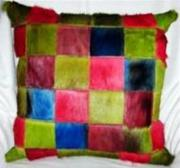 Dyed Game Hide Cushion (ERCUDYG)