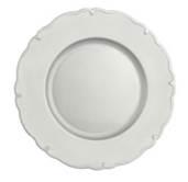 Scallop Silver Underplate  -  33 cm (TXIN 73)