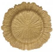 Splash Matt Gold Underplate  -  33 cm (TXIN 75)