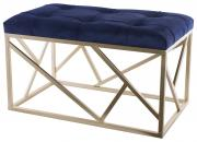 Royal Blue / Gold Long Ottoman  -  30 x (TSTA 14 )