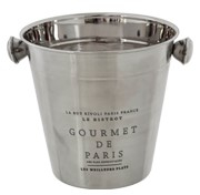 Ice Bucket , Etched  -  14 x 13 cm  (1 Lt) (TWOR 04)