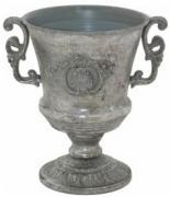 Templer Handled Vase  -  Silver  -  22 cm (TFMA 47)