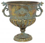 Seville Gold Handled Vase  -  34 cm (TFMA 54)