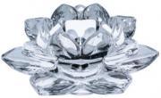 Floral Glass Candleholder  -  12 cm (TNIT 34)